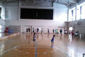 2017-08-26 岡上フロアボールクラブ練習
